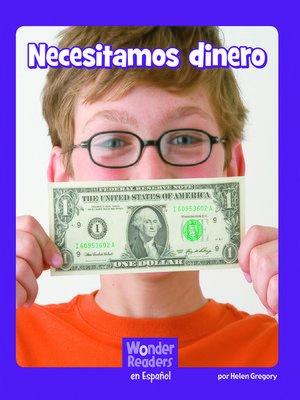 cover image of Necesitamos dinero
