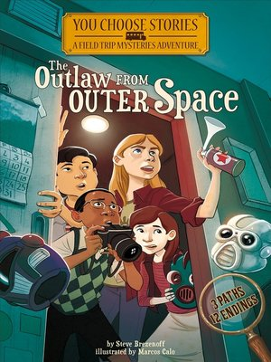 cover image of The Outlaw from Outer Space