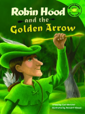 cover image of Robin Hood and the Golden Arrow