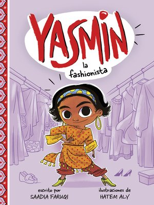 cover image of Yasmin la fashionista