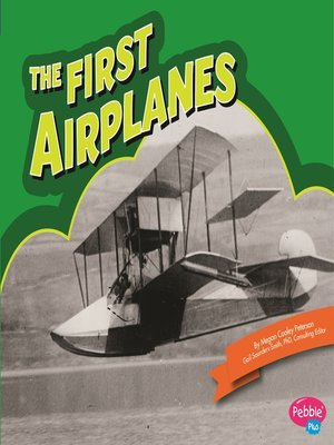 cover image of The First Airplanes