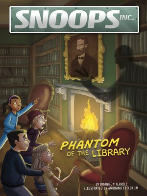 cover image of Phantom of the Library