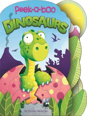 cover image of Peek-a-Boo Dinosaurs