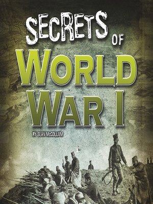 cover image of Secrets of World War I