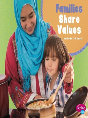 cover image of Families Share Values