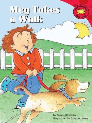 cover image of Meg Takes a Walk