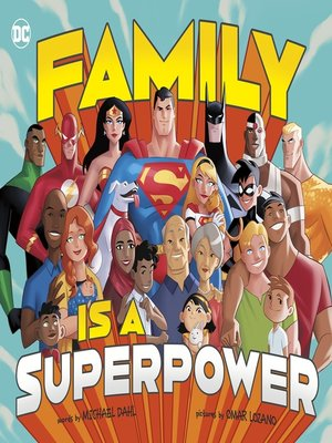 cover image of Family Is a Superpower