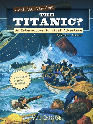 cover image of Can You Survive the Titanic?