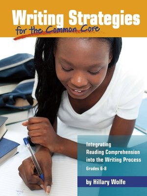 cover image of Writing Strategies for the Common Core