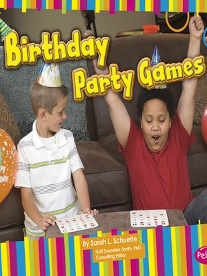 cover image of Birthday Party Games