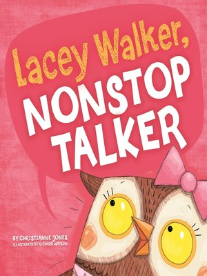 cover image of Lacey Walker, Nonstop Talker