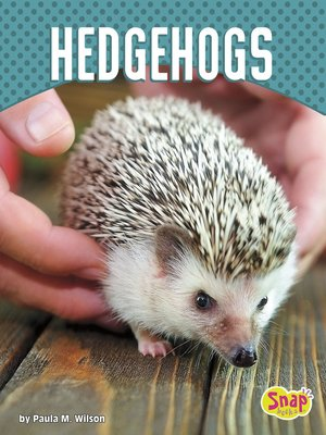 cover image of Hedgehogs