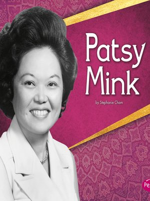 cover image of Patsy Mink