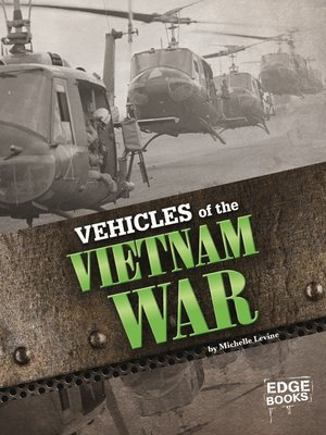 cover image of Vehicles of the Vietnam War
