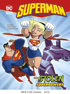 cover image of The Stolen Superpowers