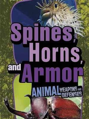 cover image of Spines, Horns, and Armor
