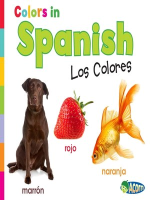 cover image of Colors in Spanish