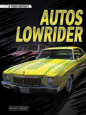 cover image of Autos lowrider