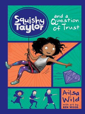 cover image of Squishy Taylor and a Question of Trust