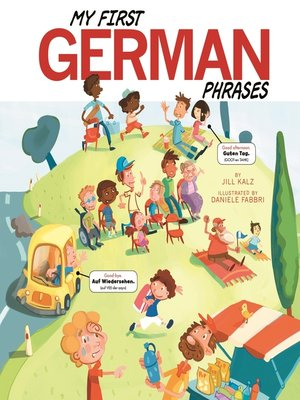 cover image of My First German Phrases