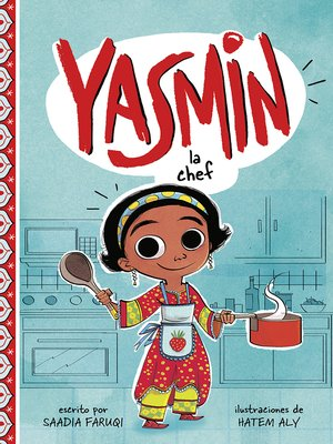 cover image of Yasmin la chef
