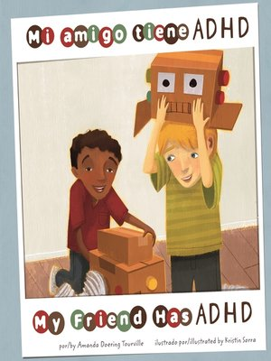 cover image of Mi amigo tiene ADHD/My Friend Has ADHD