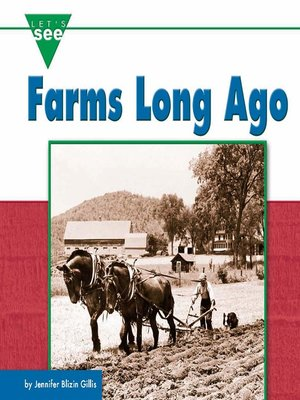 cover image of Farms Long Ago