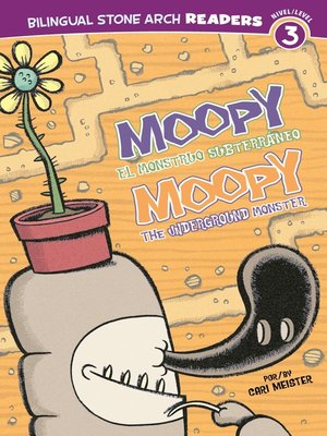 cover image of Moopy el Monstruo Subterráneo/Moopy the Underground Monster