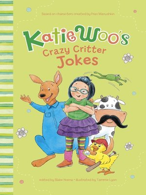 cover image of Katie Woo's Crazy Critter Jokes