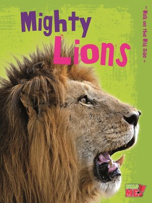 cover image of Mighty Lions