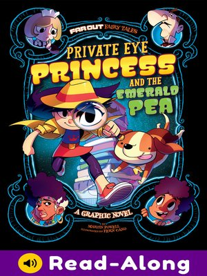 cover image of Private Eye Princess and the Emerald Pea