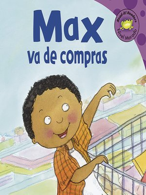 cover image of Max va de compras