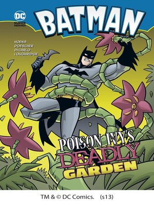 cover image of Poison Ivy's Deadly Garden