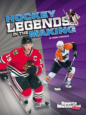 cover image of Hockey Legends in the Making