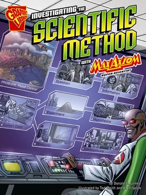 cover image of Investigating the Scientific Method with Max Axiom, Super Scientist
