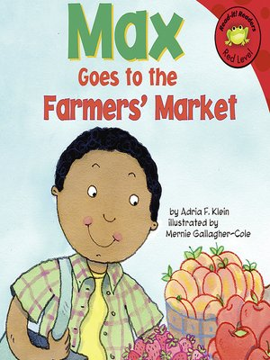 cover image of Max Goes to the Farmers' Market