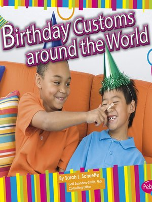 cover image of Birthday Customs around the World