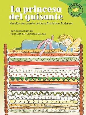 cover image of La princesa del guisante