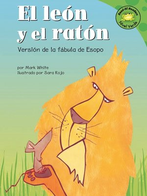 cover image of El leon y el raton