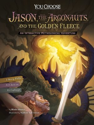 cover image of Jason, the Argonauts, and the Golden Fleece