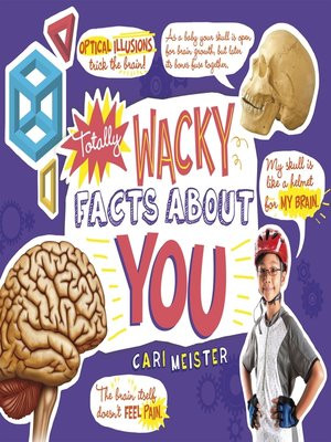 cover image of Totally Wacky Facts About YOU!