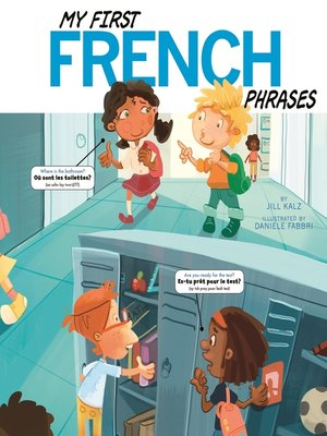 cover image of My First French Phrases
