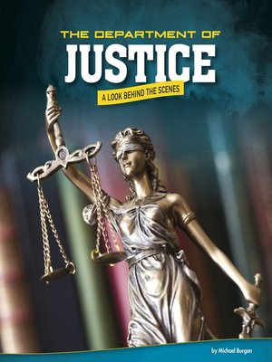 cover image of The Department of Justice