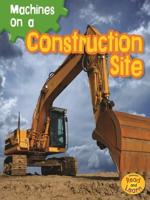 cover image of Machines on a Construction Site