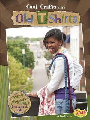 cover image of Cool Crafts with Old T-shirts