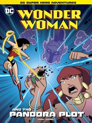 cover image of Wonder Woman and the Pandora Plot