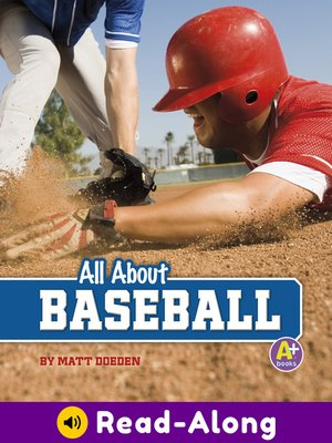 cover image of All About Baseball