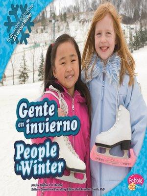 cover image of Gente en invierno/People in Winter