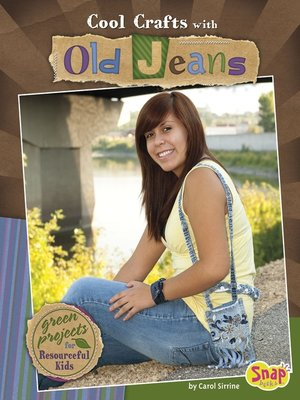 cover image of Cool Crafts with Old Jeans
