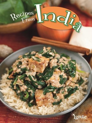 cover image of Recipes from India